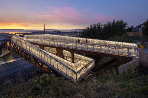 Grand Avenue Park Bridge   LMN Architects