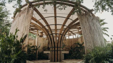 Bathroom Pavillion Flor de Bambú | FabrikG