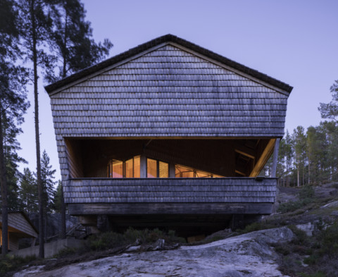 The Cuckoo's Nest Cabin | Hoem + Folstad Arkitekter