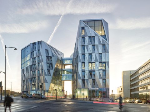 Urban Quartz Office Building | Hamonic + Masson & Associés + a/LTA