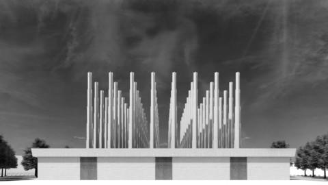 "Adjaye Associates designs ""labyrinth of abstraction"" as martyrs' memorial in Niger Adjaye Associates設計""抽象迷宮""作為尼日爾烈士紀念館"
