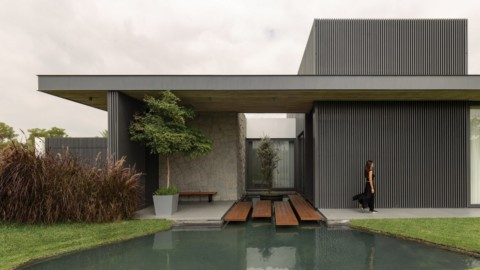 Tactile 6M House in Ecuador nestles into its natural surroundings|厄瓜多爾的6M觸覺房依托自然環境