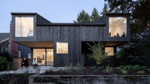 Large windows and cantilevers animate House on 36th by Beebe Skidmore|大窗戶和懸臂為第36號房屋動畫,作者Beebe Skidmore