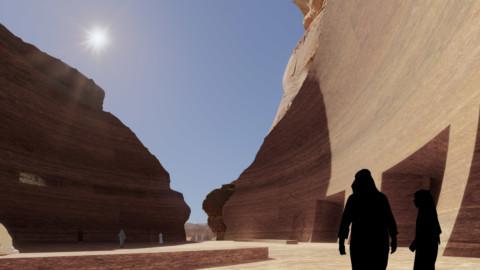 Jean Nouvel reveals cave hotel in Saudi Arabia's AlUla desert|讓·努維爾揭示了沙特阿拉伯AlUla沙漠的洞穴酒店