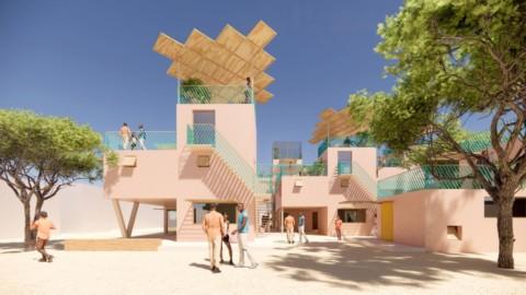 Julien de Smedt designs range of recycled-plastic houses Julien de Smedt設計了一系列再生塑料房屋