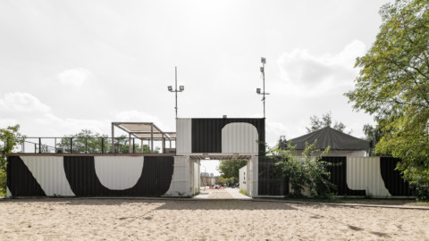 Kontenerart 19 Cultural & Recreational Space   wiercinski-studio