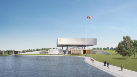 Rafael Viñoly Architects reveals design of National Medal of Honor Museum in Arlington|拉斐爾·維尼利(RafaelViñoly)建築師展示了阿靈頓國家榮譽勳章博物館的設計