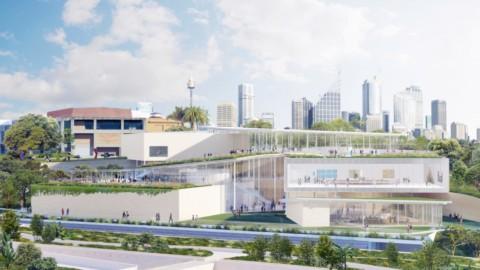 SANAA reveals Sydney Modern art gallery expansion|SANAA揭露悉尼現代美術館的擴建
