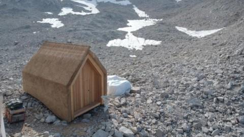 University of Stuttgart builds prototype thatched Alpine hut|斯圖加特大學建造茅草高山小屋原型