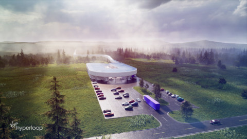 BIG designs Virgin Hyperloop Certification Center for West Virginia BIG為西弗吉尼亞州設計Virgin Hyperloop認證中心