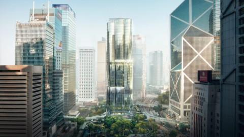 Zaha Hadid Architects reveals design for skyscraper on world's most expensive site|扎哈·哈迪德(Zaha Hadid)建築師在世界上最昂貴的地點展示摩天大樓的設計