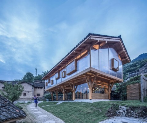 Mountain House in Mist | Shulin Architectural Design