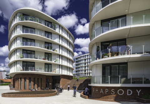Rhapsody in West Residential Development   TANGRAM architecture and urban landscape