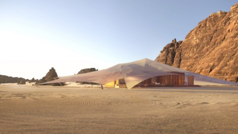 AW2 designs Bedouin-informed tent resort in Saudi Arabia's AlUla desert|AW2在沙特阿拉伯的AlUla沙漠中設計了貝都因人的帳篷度假勝地