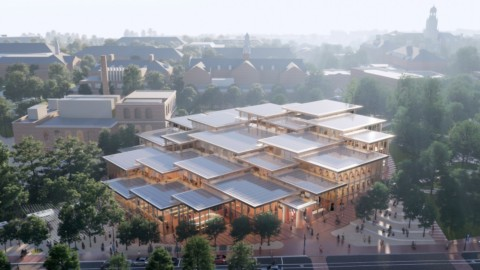 BIG unveils The Village student centre for Johns Hopkins University|BIG為約翰·霍普金斯大學開設了鄉村學生中心