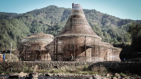 Bamboo Hostels China | Studio Anna Heringer