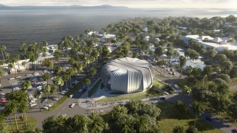 "Contreras Earl Architecture designs living ark for coral conservation near Great Barrier Reef 孔特雷拉斯伯爵建築設計大堡礁附近的珊瑚保護""起居櫃"""
