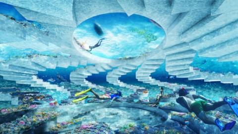 OMA designs underwater sculpture park The ReefLine for Miami Beach|OMA為邁阿密海灘設計水下雕塑公園The ReefLine