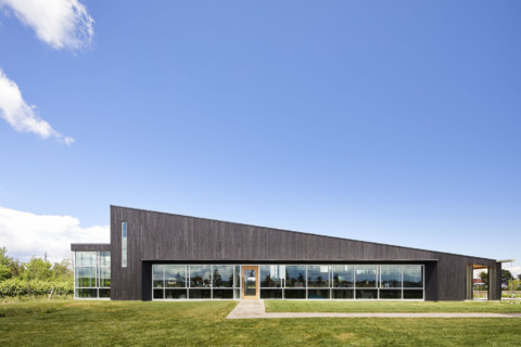 Lakeview Wine Co. Retail & Tasting Pavilion | Thier+Curran Architects