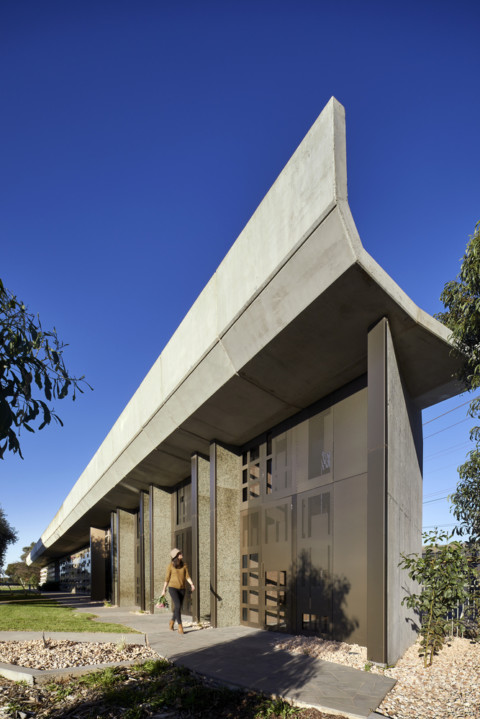 Werribee Mausoleum Extension | BENT Architecture