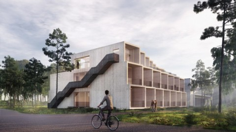 3XN to add carbon-negative extension to Hotel GSH on Bornholm island|3XN為博恩霍爾姆島的GSH酒店增加負碳延伸