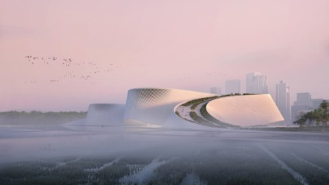 Shenzhen Natural History Museum has meandering form that mimics flow of rivers|深圳自然歷史博物館的曲折形式模仿河流