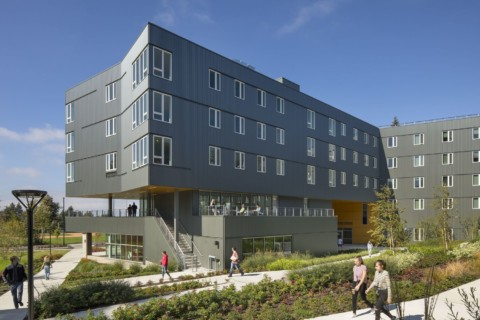 Bellevue College Residential Hall | NAC Architecture