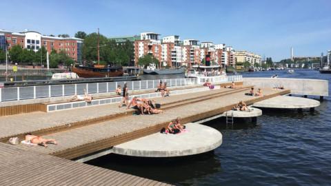 Fredriksdalskajen Pier | Nivå Landskapsarkitektur
