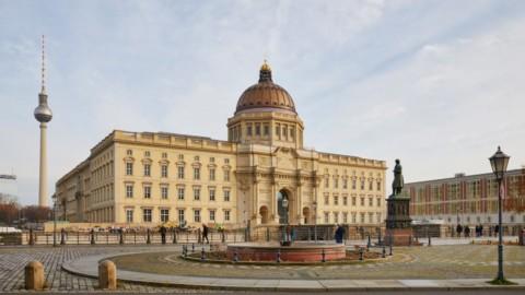 German royal palace reconstructed to become Humboldt Forum on Berlin's Museum Island|德國皇宮重建成為柏林博物館島上的洪堡論壇