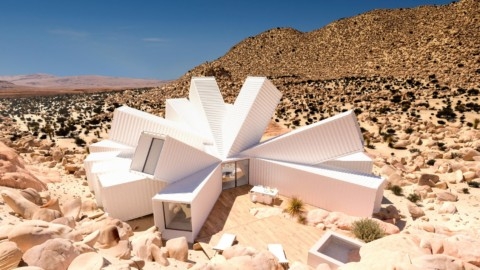 Unbuilt shipping container house for Joshua Tree on sale for $3.5 million|約書亞樹未建造的運輸集裝箱房屋以350萬美元出售