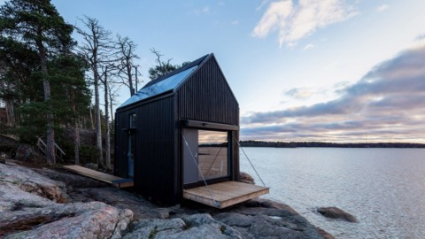 Majamaja is an off-grid seaside cabin near Helsinki|Majamaja是赫爾辛基附近的離網海濱小屋