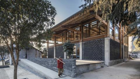 LUO Studio turns abandoned concrete foundations into community centre|LUO Studio將廢棄的混凝土基礎變成社區中心