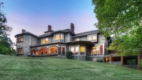 Rhode Island's 1870 Hilltop by Architect Richard Morris Hunt lists for $3.3M |羅德島(Rhode Island)1870年由建築師Richard Morris Hunt設計的山頂畫作以330萬美元的價格售出