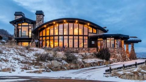$7.5M Contemporary Mountain Retreat by Upwall Design in Park City, UT|Upwall Design投資750萬美元的當代山地度假屋,猶他州帕克城