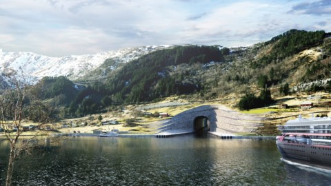 """""""World's first full-scale ship tunnel"""" gets go ahead to be built in Norway