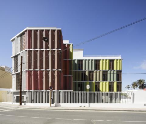 Headquarter of the Red Cross in Ceuta | endosdedos arquitectura