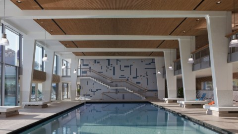 4a Architekten revamps Stuttgart's oldest mineral baths|4a Architekten改造了斯圖加特最古老的礦物浴